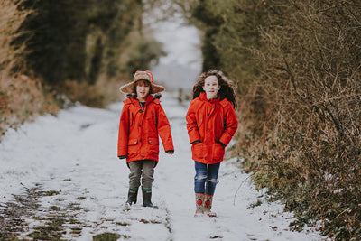 Burn children's energy off with outdoor winter play