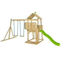 TP Kingswood Bruce Wooden Swing Set & Slide