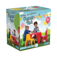 Keren Kids Play Table & 4 Chairs