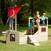 TP Pirate Galleon Wooden Playhouse - FSC<sup>®</sup>
