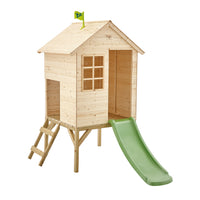 TP Sunnyside Wooden Tower Playhouse with Slide-FSC<sup>®</sup>