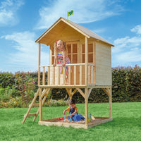 TP Hill Top Wooden Tower Playhouse-FSC<sup>®</sup>