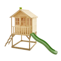 TP Hill Top Tower Wooden Playhouse with Slide-FSC<sup>®</sup>