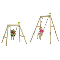 TP Forest Acorn Growable Wooden Swing Set Complete-FSC<sup>®</sup>