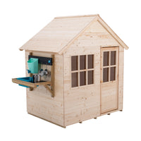 TP Hideaway Wooden Playhouse with Mud Kitchen- FSC<sup>®</sup>