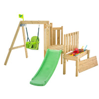 TP Forest Toddler Wooden Swing Set & Slide-FSC<sup>®</sup>