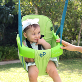 TP Small to Tall 2 in1 Metal Swing Set