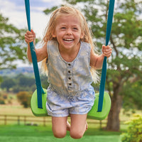 TP Single Metal Swing Set