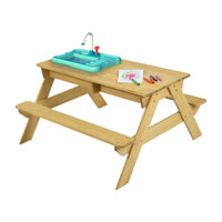 TP Splash & Play Wooden Picnic Table