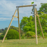 TP Knightswood Single Wooden Swing Frame - Builder - FSC<sup>®</sup>