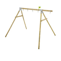 TP Knightswood Double Wooden Swing Frame & Extension-FSC<sup>®</sup>