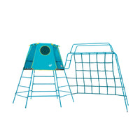 TP Explorer Metal Climbing Frame and Monkey Run