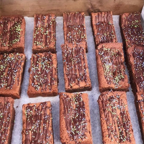 Avocado and Coconut Brownie (DF, GF)