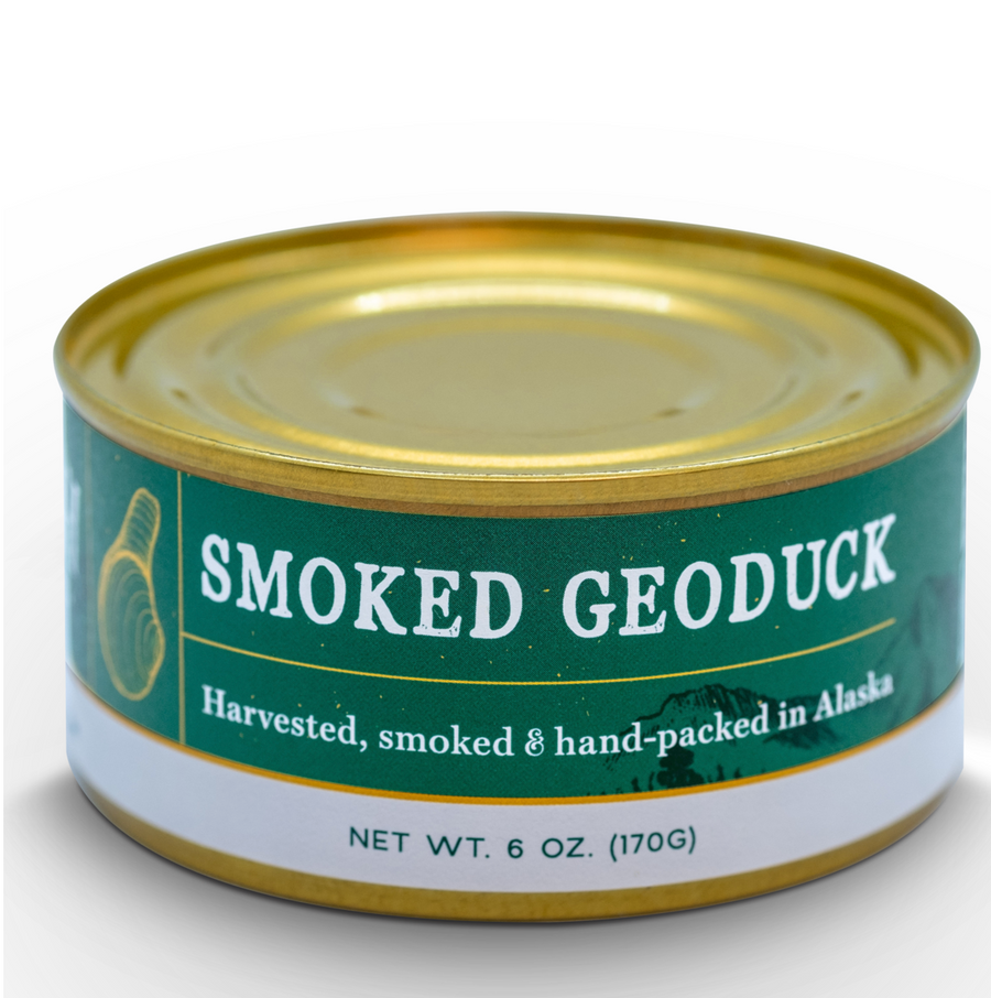 Wildfish Cannery Smoked Geoduck