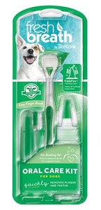 TropiClean Fresh Breath Oral Care Kit (Sm)