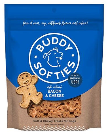 Buddy Biscuits Healthy Whole Grain (Bacon&Cheese) 6 oz.