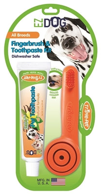 Fingerbrush & Toothpaste Kit