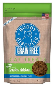 Buddy Biscuits Grain Free for Cats Tender Chicken