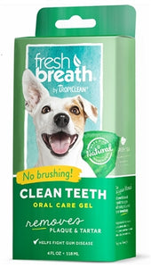 TropiClean Fresh Breath Clean Dog 4oz