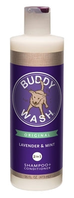 Buddy Wash 2-in-1 Shampoo + Conditioner 16 Oz. Lav/Mint
