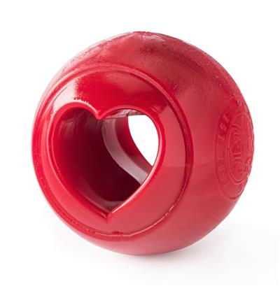 Orbee-Tuff Nooks Ball (Red/Heart) Toy