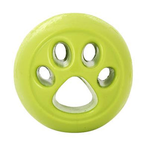 Orbee-Tuff Nooks Ball (Green/Paw) Toy