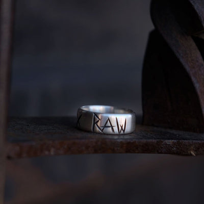 "Ring - ""RAW"" - Purman Sustainable Jewelry"