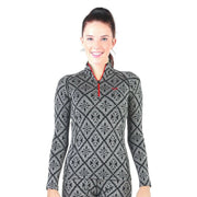 MERINOWOLLE LONG SLEEVE WITH ZIPPER SLIM FIT VENUS