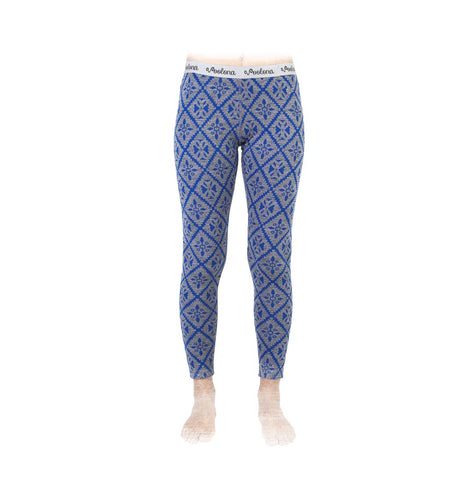 Frauenleggings in blau