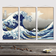 The Great Wave Scroll Series
