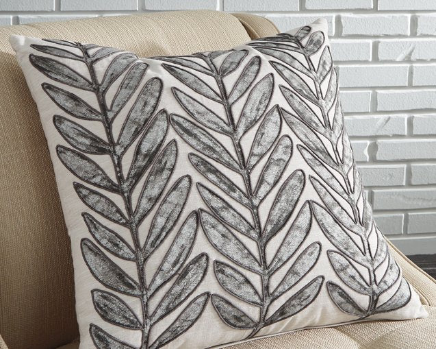 Masood Signature Design by Ashley BeigeTaupe Pillow Set of 4