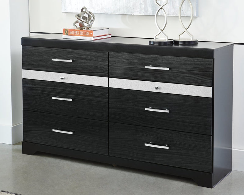 Starberry Signature Design by Ashley Black Dresser