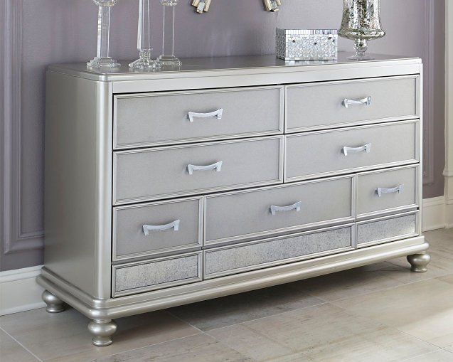 Coralayne Signature Design by Ashley Silver Dresser