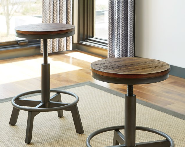 Torjin Signature Design by Ashley BrownGray Counter Height Stool