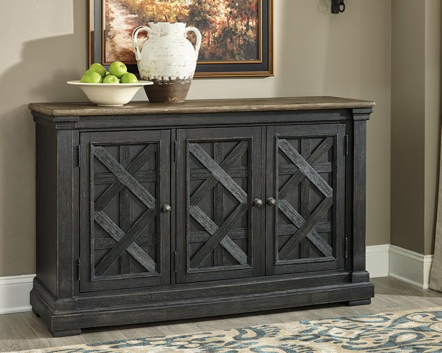 Tyler Creek Signature Design by Ashley BlackGray Dining Server