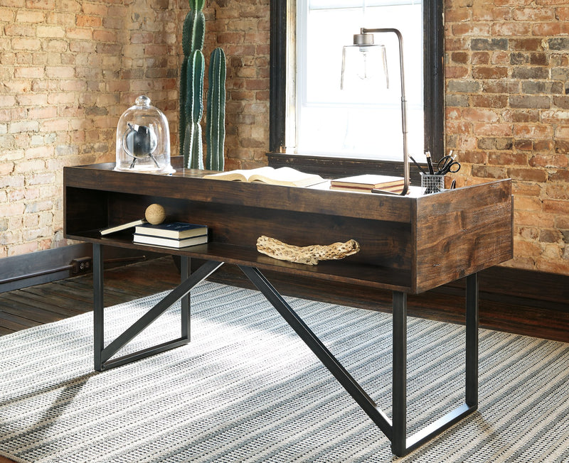 Starmore Signature Design by Ashley Brown 63 Home Office Desk