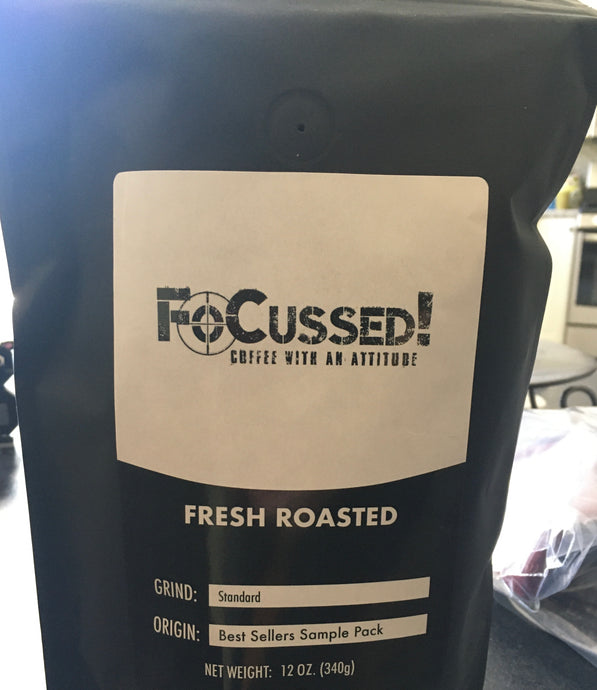 Coffee That Works As Hard As You Do - FoCussed! Coffee Best Sellers Sample Pack Product Review