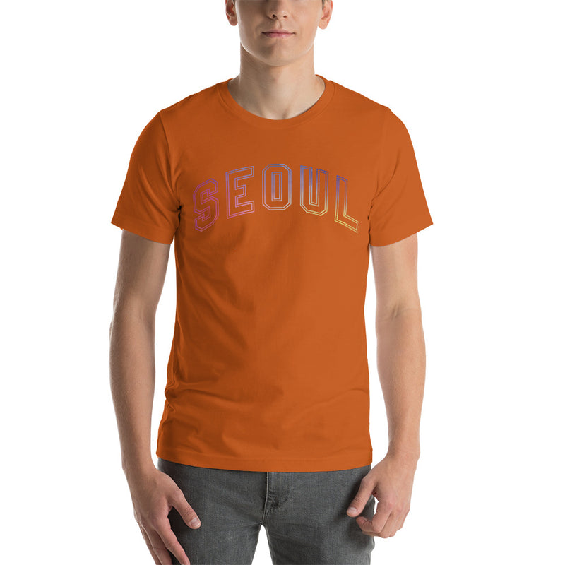 Seoul Graphic Short-Sleeve Unisex T-Shirt