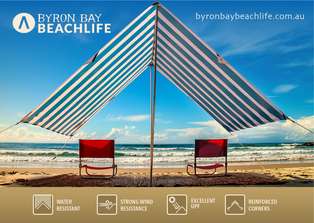 Beach Tent Instruction Card Front