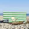 NAUTICAL GREEN WINDBREAK  35% OFF | IMPERFECTION SALE