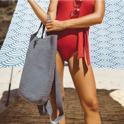 TOTE BACKPACK | Ocean - Beach Shade
