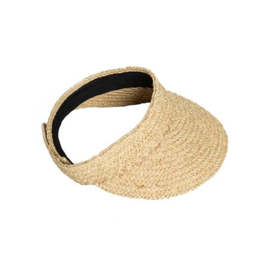 Visor - RAFFIA STRAW - Beach Shade