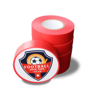 Red Football Sock Tape