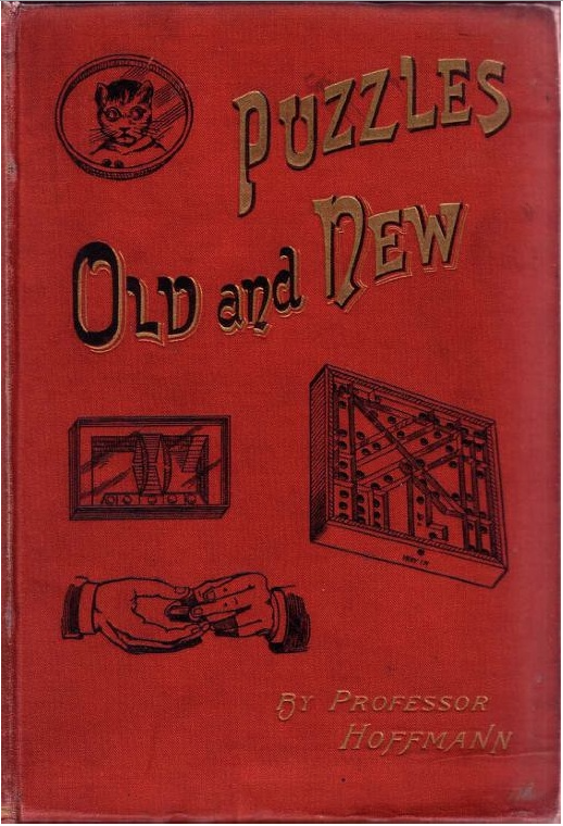 Puzzles Old And New By Professor Hoffmann - 1893 Cover