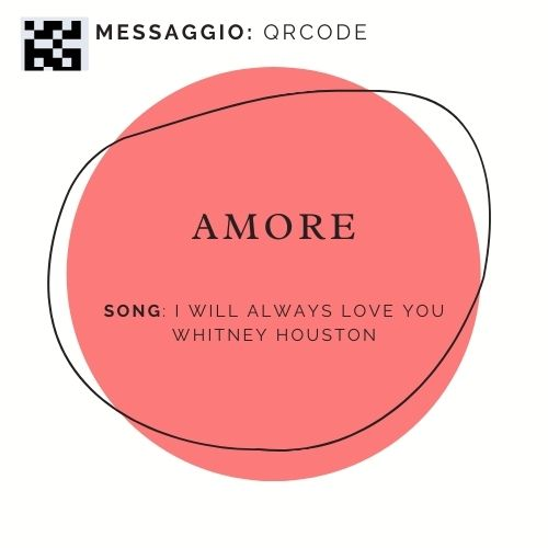 AMORE -I will always love you - Whitney Houston