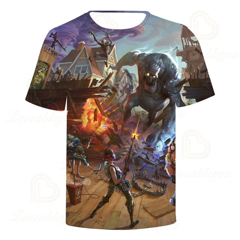 T shirt gameplay fortnite