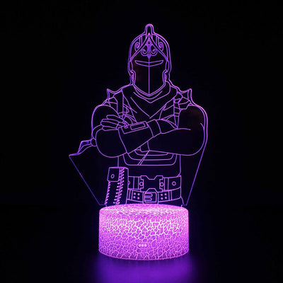 chevalier noir lampe Fortnite
