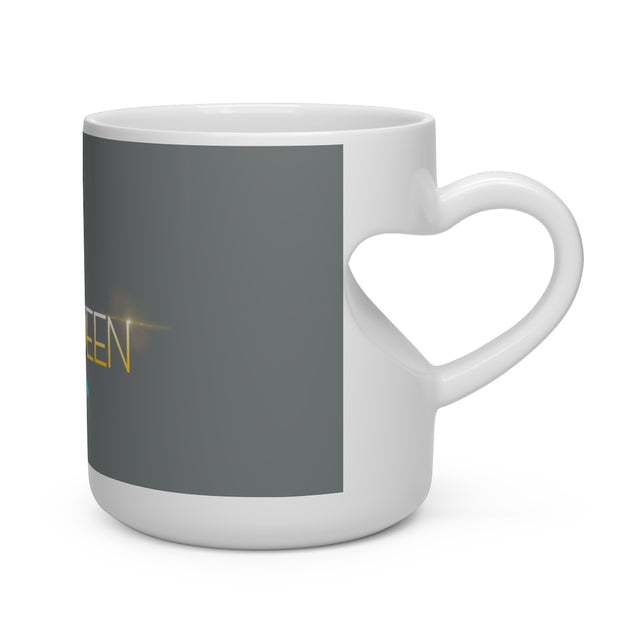 Ceramic Mug - Heart Shape Mug
