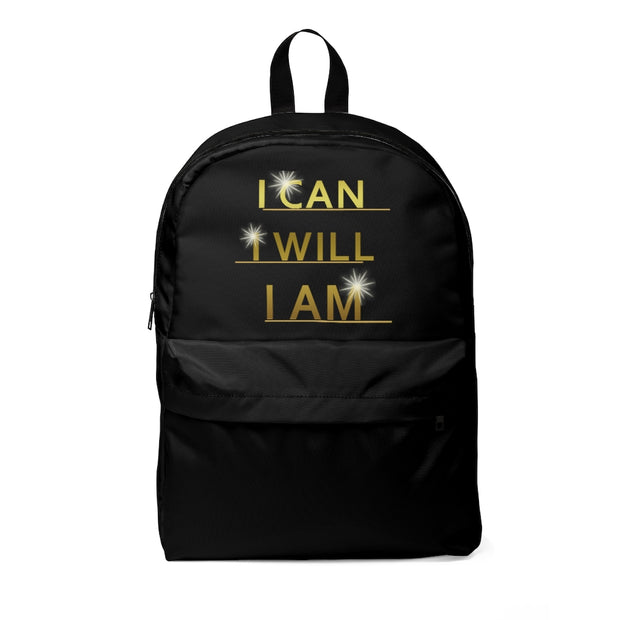 Stylish Black Backpack - Classic Backpack