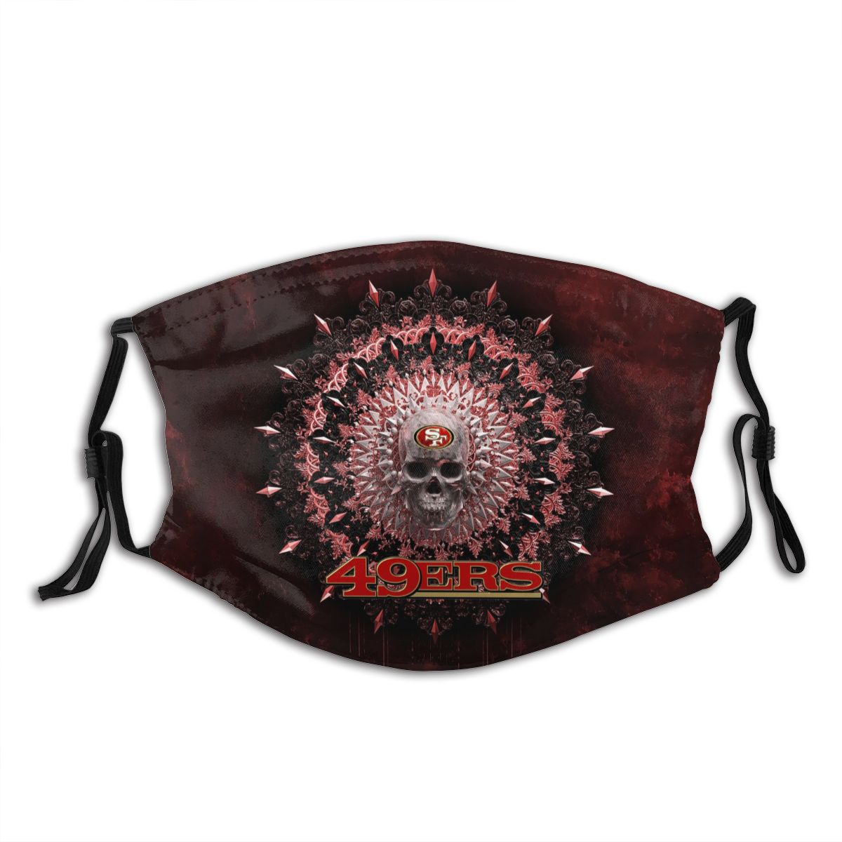 49ers Adult Cloth Face Covering With Filter